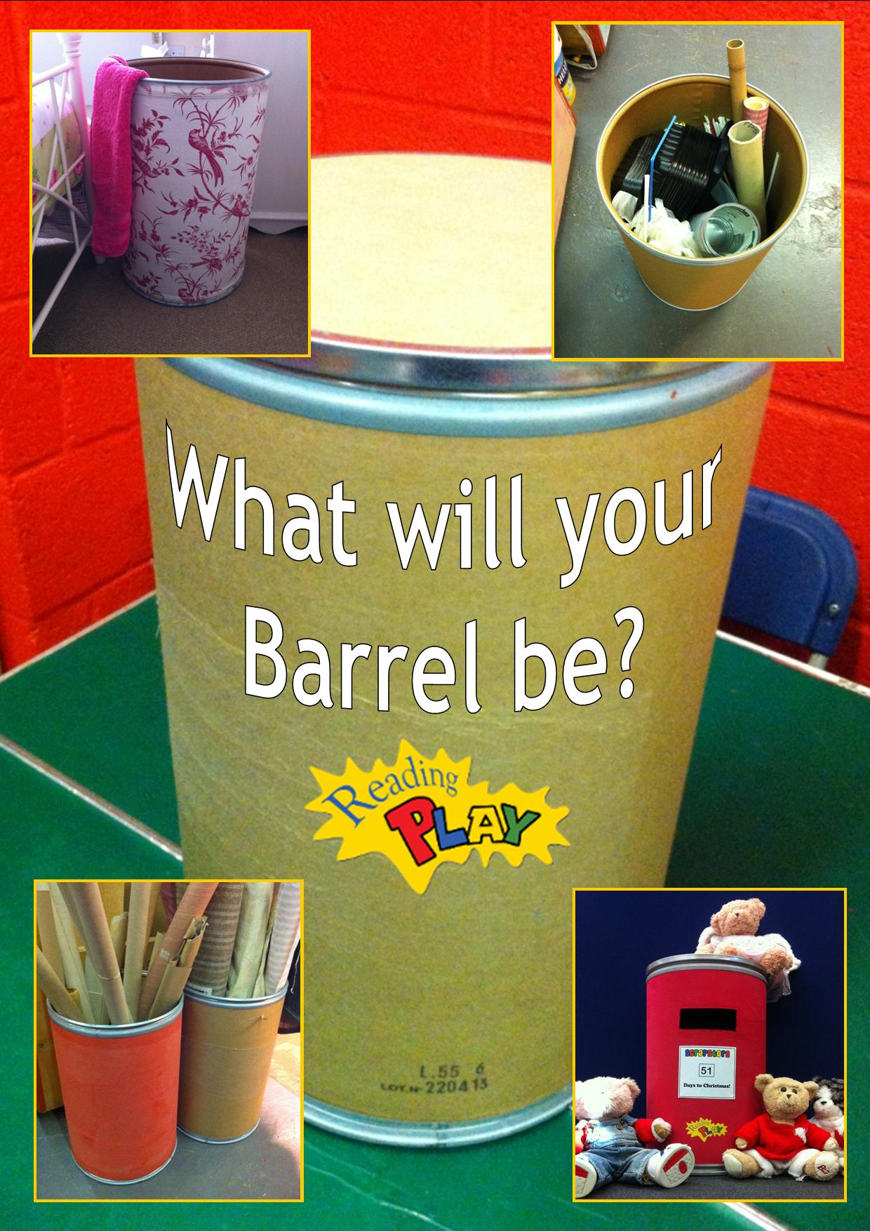What will your Barrel be?