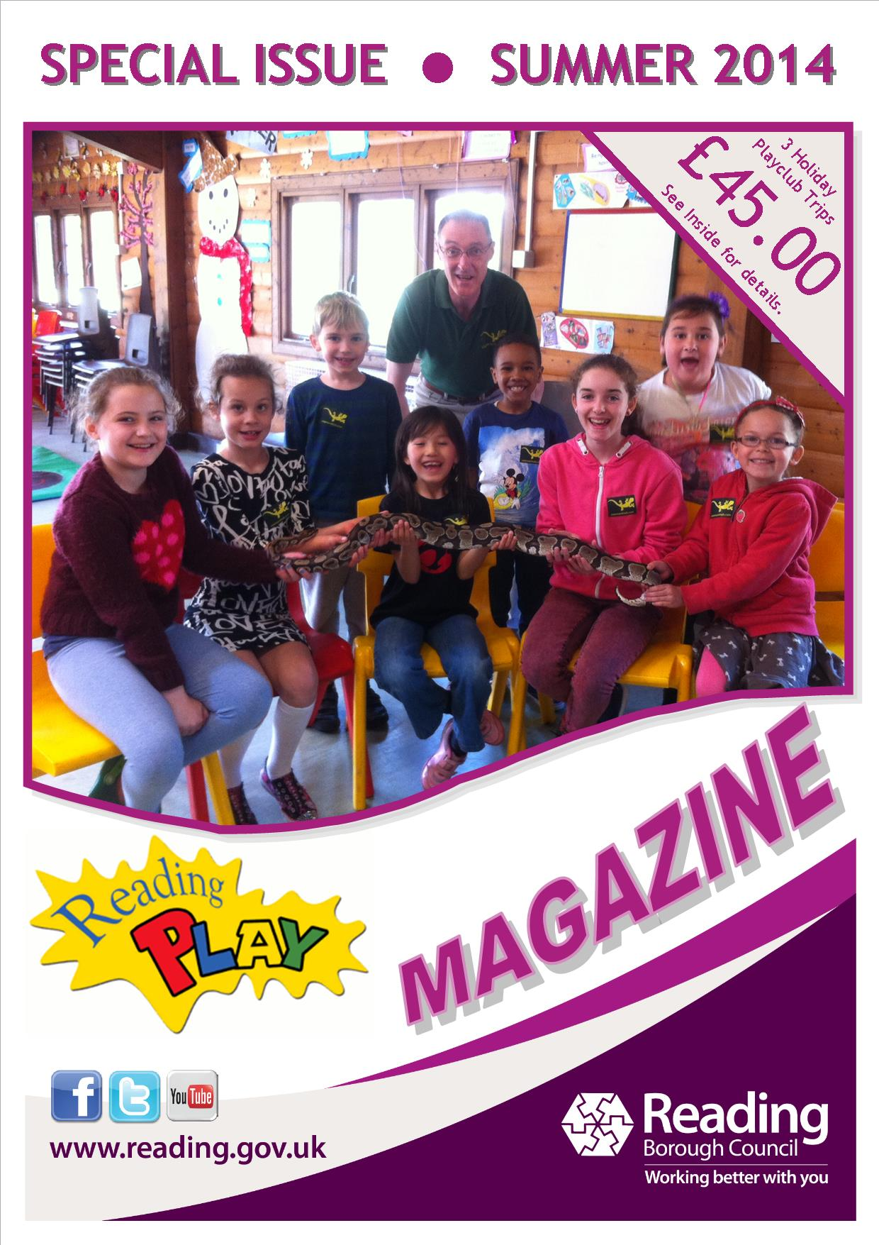 Reading Play Magazine - Summer 2014
