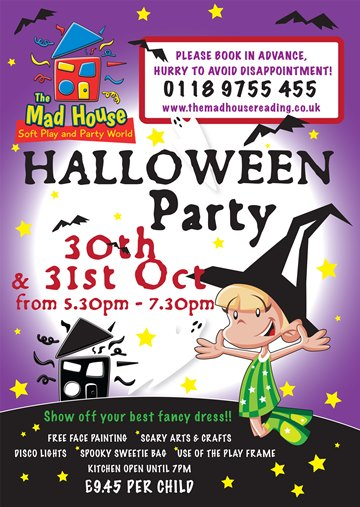Mad House Halloween Party