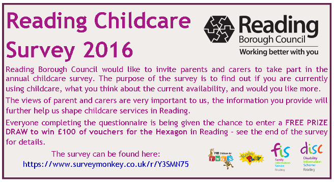 Reading Childcare Survey 2016